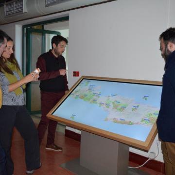Ο διαδραστικός χάρτης δίνει τη δυνατότητα ευχάριστης ενημέρωσης των επισκεπτών για τις περιοχές NATURA 2000 στην Κρήτη