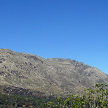 Mount Kedros as seen from Asiderotas