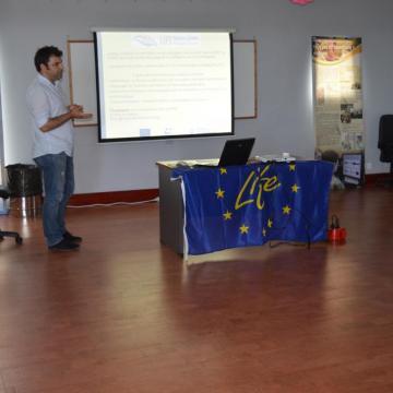 Ο Παναγιώτης Νύκτας, εξωτερικός συνεργάτης τηςΔιεύθυνσης Συντονισμού και Επιθεώρησης Δασών