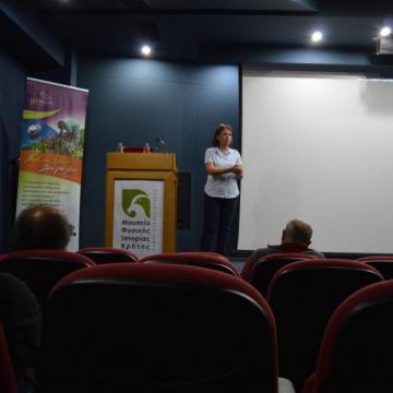 Η κα Ρουμελιωτάκη, Αντιδήμαρχος Περιβάλλοντος, Καθαριότητας και Πολιτικής Προστασίας Δήμου Ιεράπετρας παρουσιάζει «Τα μέτρα διαχείρισης & προστασίας της νήσου Χρυσής για το 2018»