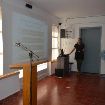 Η κα. Πλουμή αναλύει την έννοια των οικοσυστημικών υπηρεσιών, Αλίκαμπος