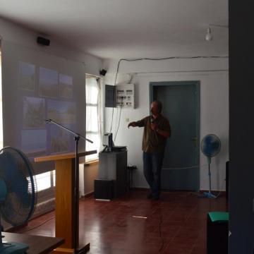 Ο κος. Ξηρουχάκης παραθέτει τα οφέλη της φύσης και της άγριας ζωής στις ανθρώπινες κοινωνίες, Αλίκαμπος