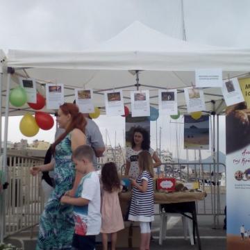 Το περίπτερο του ΜΦΙΚ στο φεστιβάλ