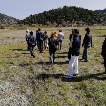 Επίσκεψη στην πιστοποιημένη από τον ΕΔΣ καλλιέργεια Μαλοτήρας