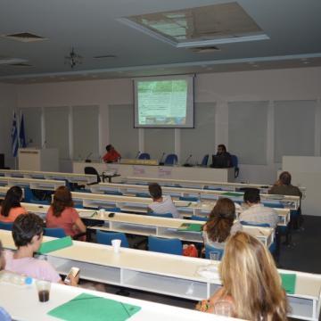 Ο κος. Μπαρνιάς παρουσιάζει την αξία του οικοτουρισμού ως αναπτυξιακό εργαλείο, Χανιά